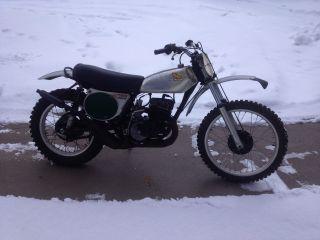 Honda 250 1973 Elsinore Motocrosser Ahrma photo