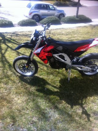 2007 Aprilia Sxv 5.  5 550 Dual Sport Promoto Motorcycle photo
