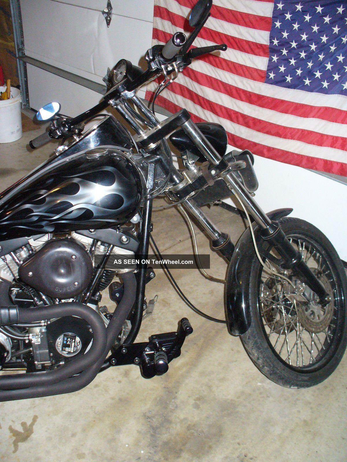 1981 Harley - Davidson Shovelhead Fxe Custom Superglide Wideglide