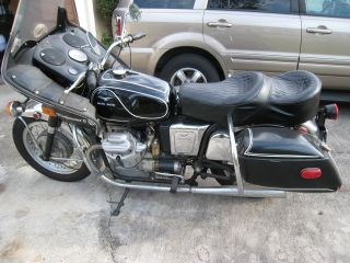 1969 Moto Guzzi V - 7 700cc Motorcycle photo