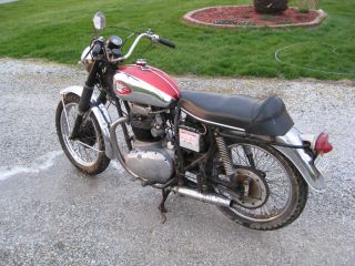 1966 Bsa Lightning 650 A65l photo