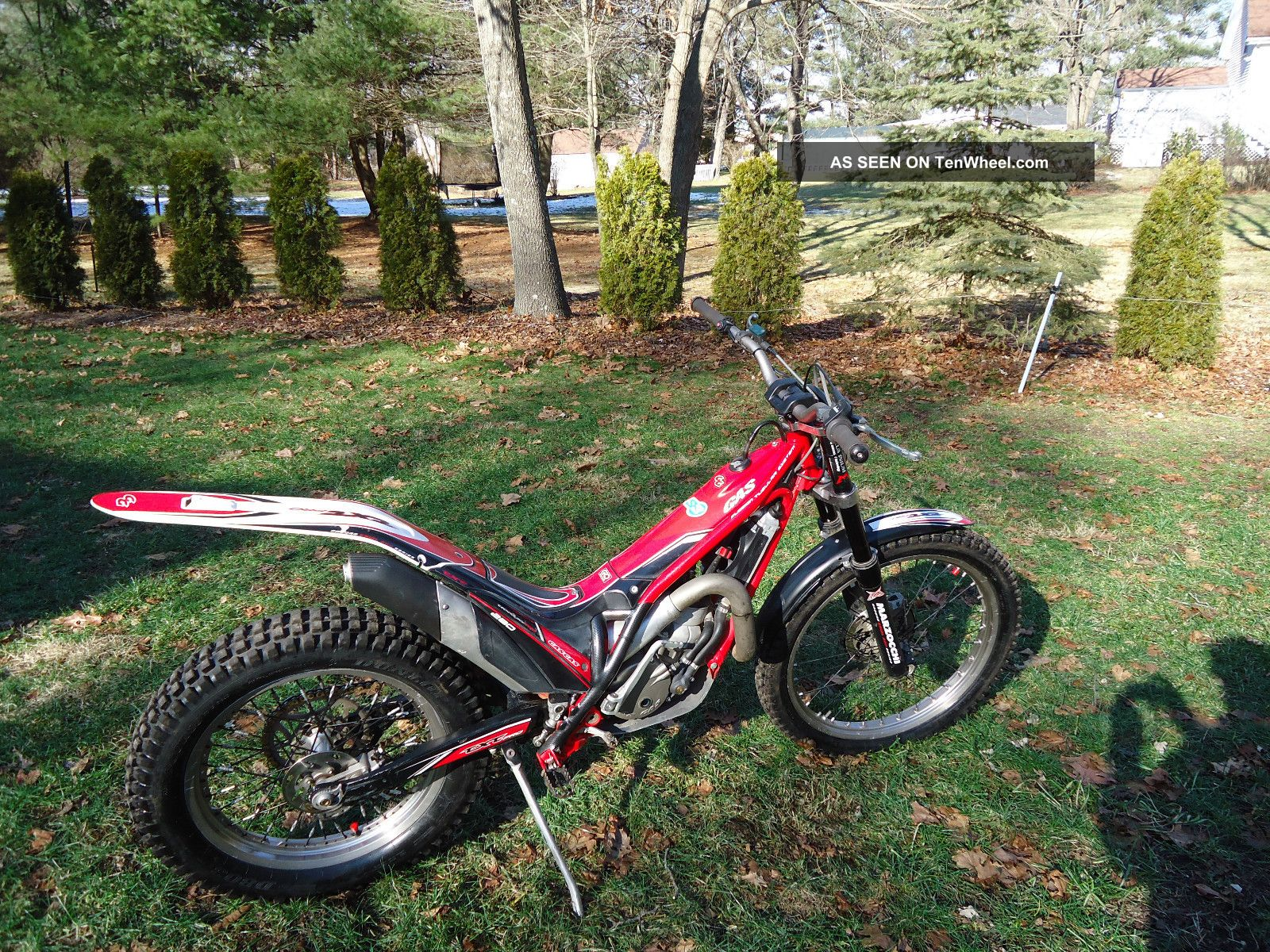 2011 Gas Gas 280 Pro Trials Bike Other Makes photo