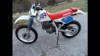 1992 Honda Xr250r In photo