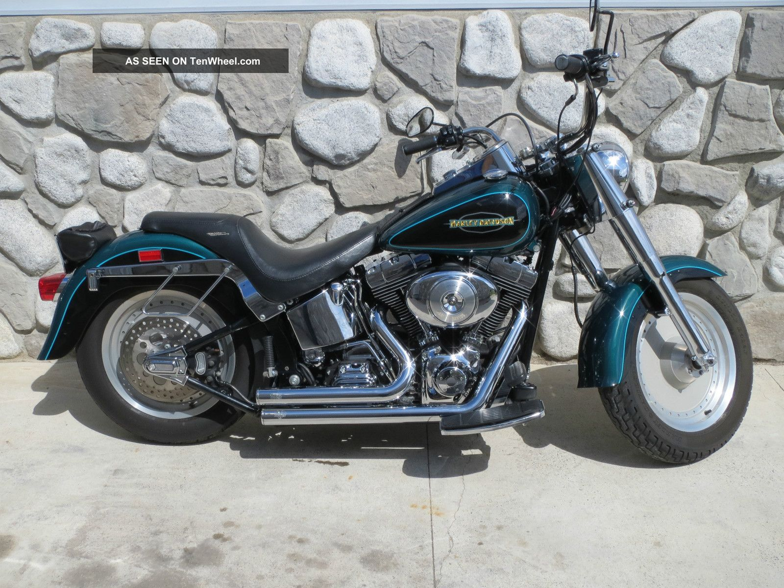 2000 Harley - Davidson / Custom Softail Fat Boy Flstf Softail photo