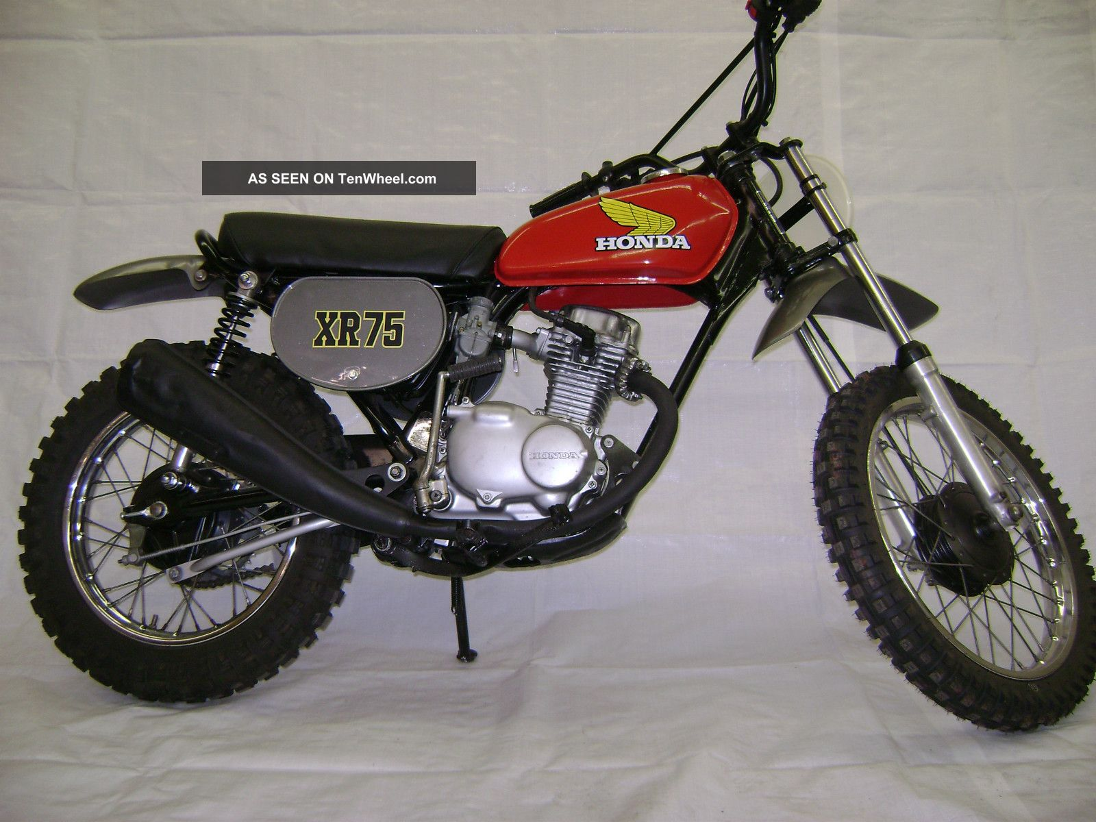 75 1975 Honda Xr75 Motorcycle Xr - 75 Xr 75 XR photo