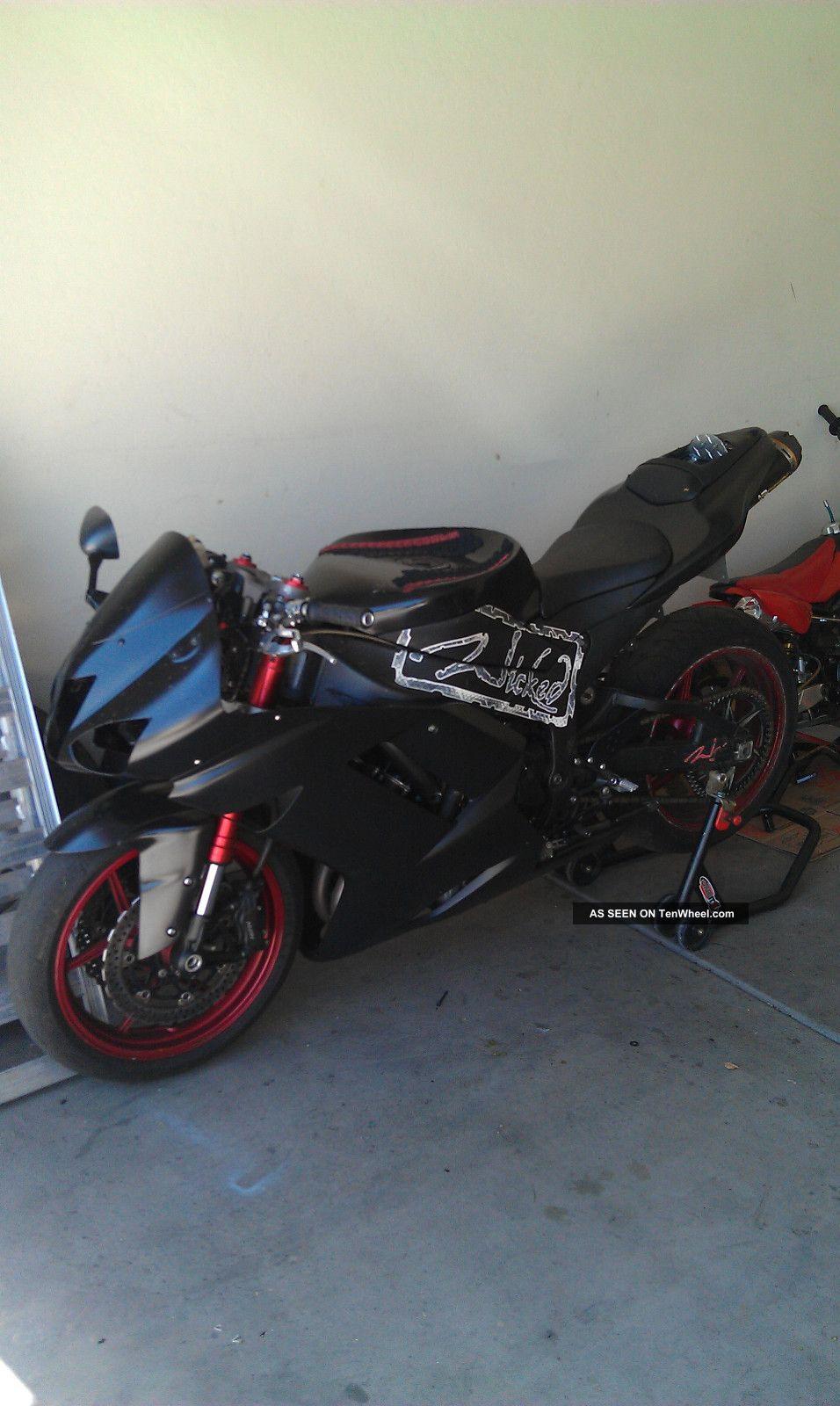 2008 Kawasaki Zx6r Stunt Bike