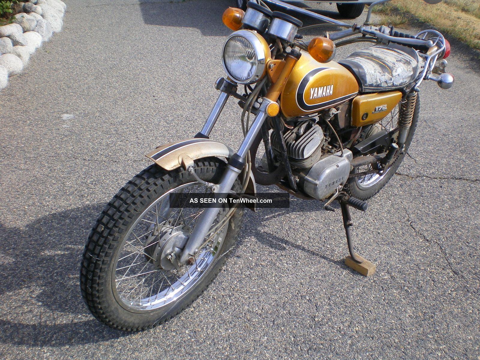 Wiring a 1973 yamaha 80 enduro 1973 yamaha motorcycle for 1973 yamaha yz80