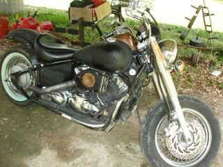 2003 Yamaha V - Star Rat - Rod photo