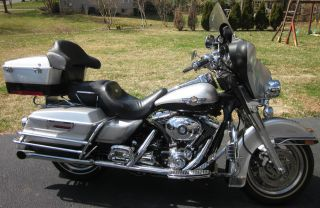 2003 Harley Davidson - 100th Yr Anniversary Bike - Black & Silver photo