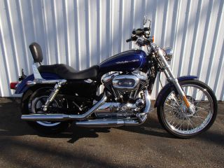2006 Harley - Davidson Xl1200c Sportster Blue Um90930 Rg photo