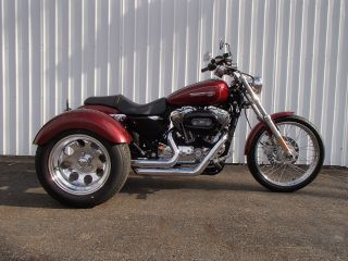 2009 Harley Davdison Xl1200 Custom Sportster Frankenstein Trike Um90677 Jb photo