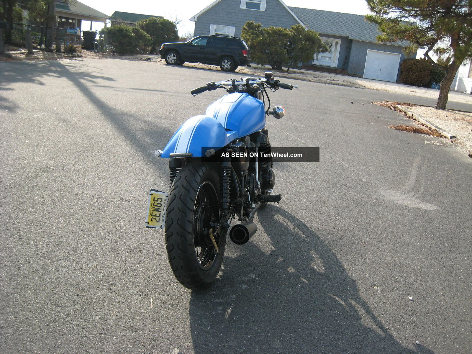 1978 Honda Cb750 Cafe Racer Cb 750 CB photo