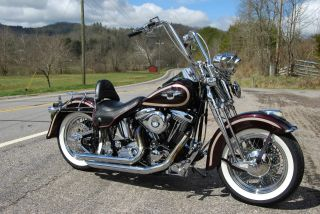 1998 Harley 95th Anniversary Heritage Springer Flsts - 770 Of 3000 photo