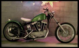 1963 Harley Davidson Sportster Xlch photo