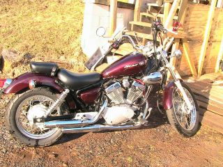2008 Yamaha V Star 250 photo