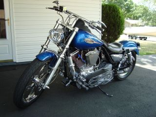 1992 Harley Davidson Fxr Custom photo