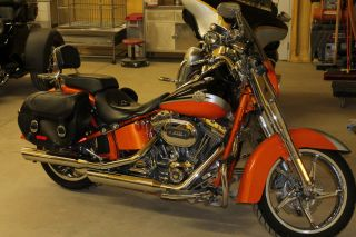 2010 Harley Davidson Cvo Softail Convertible Flstse Screamin ' Eagle photo