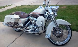 Harley Davidson: Touring 2008 Road King Flhrc Custom photo