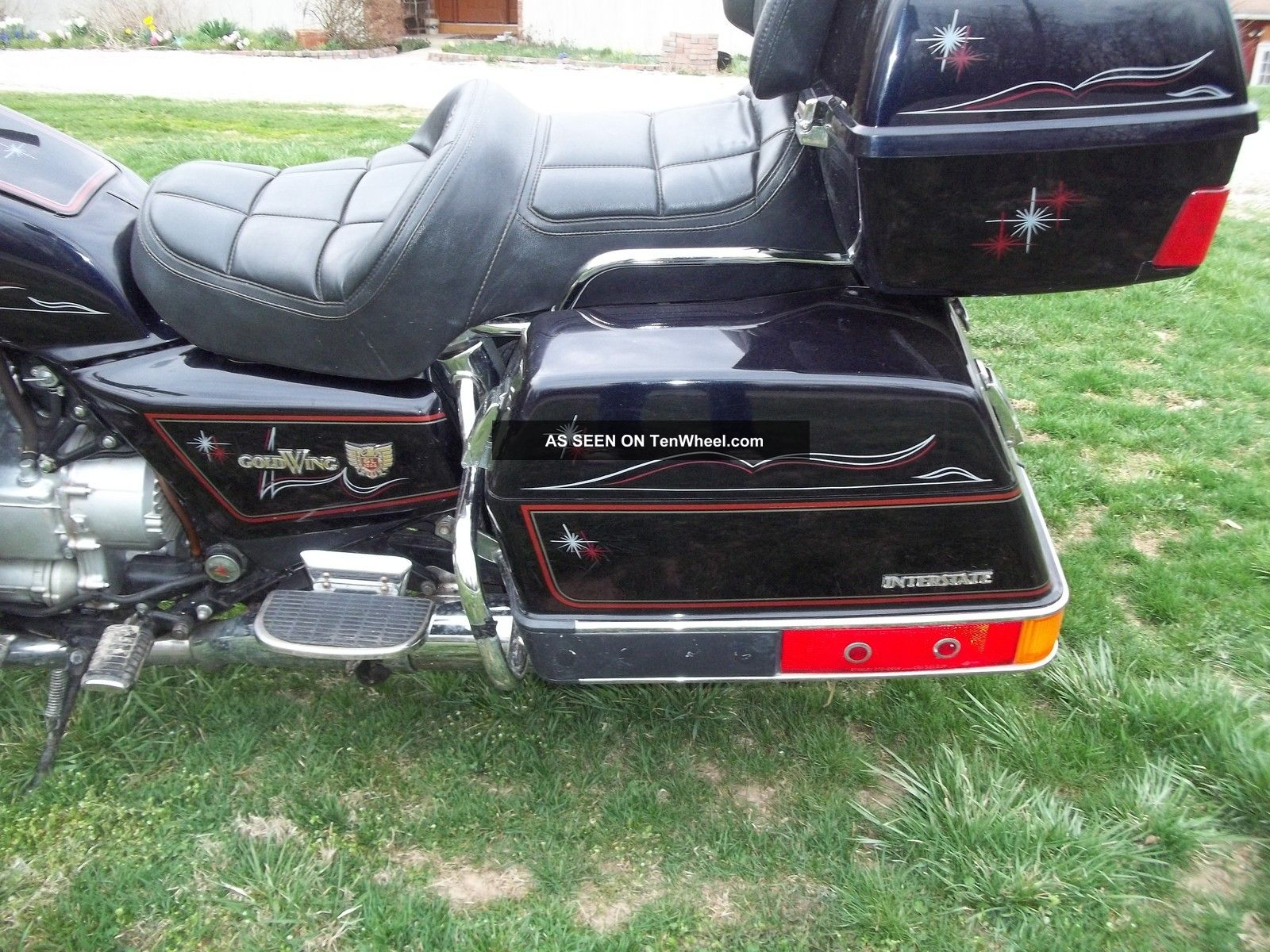 1984 Honda Goldwing Gl1200 Interstate Show Room Condition