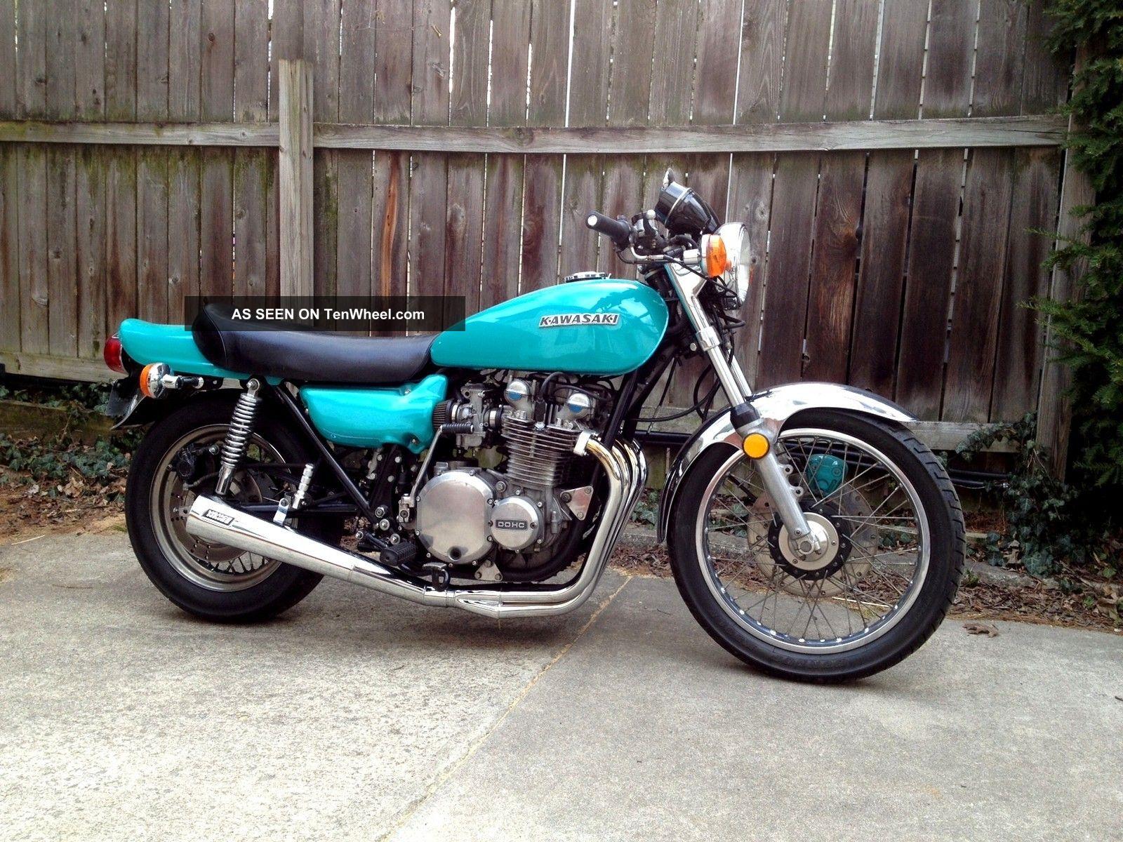 1974 Kawasaki Z1 900 Vintage Motorcycle Clear Title