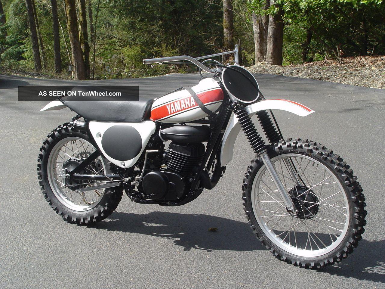 1975 Yamaha Yz 360 B Ow Replica Project Needs Finishing Ahrma Mx Motocross YZ photo