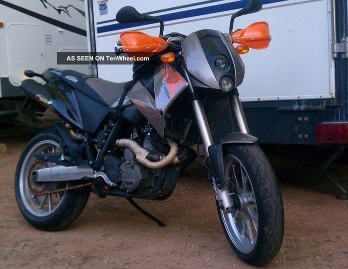 2000 ktm duke ii silver with silver bbs alloy wheels. Black Bedroom Furniture Sets. Home Design Ideas