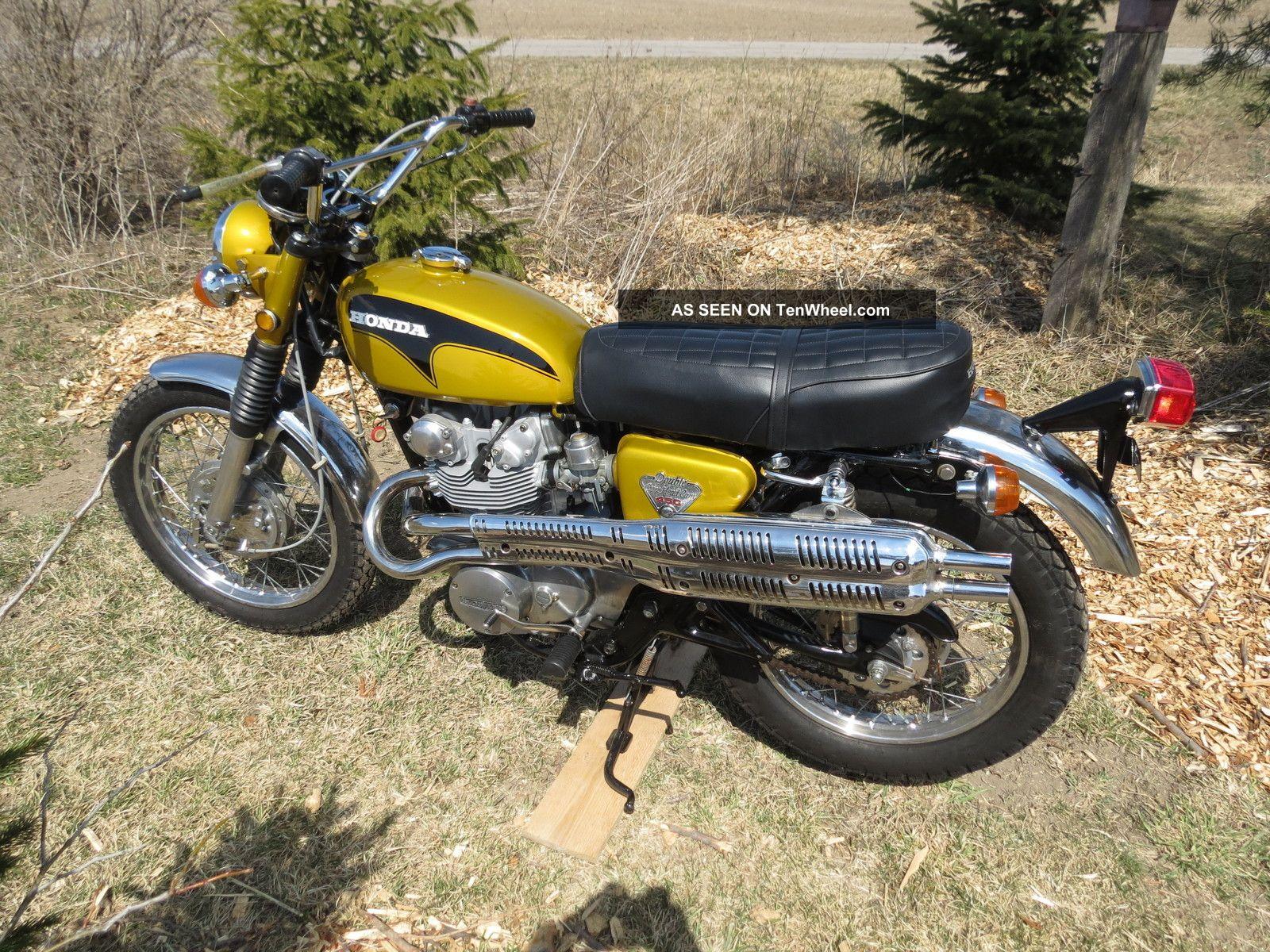 1971 Honda Cl450 Scrambler K4 Cb450 Cb500 Cb350 Vintage Cl350 Cb750f Cb550f