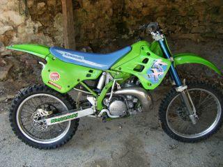 1991 Kawasaki Kx250 Good Shape.  Ready To Ride. photo