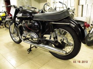1964 Norton 750 Atlas Featherbed Frame 6k Vintage Classic Motorcycle photo