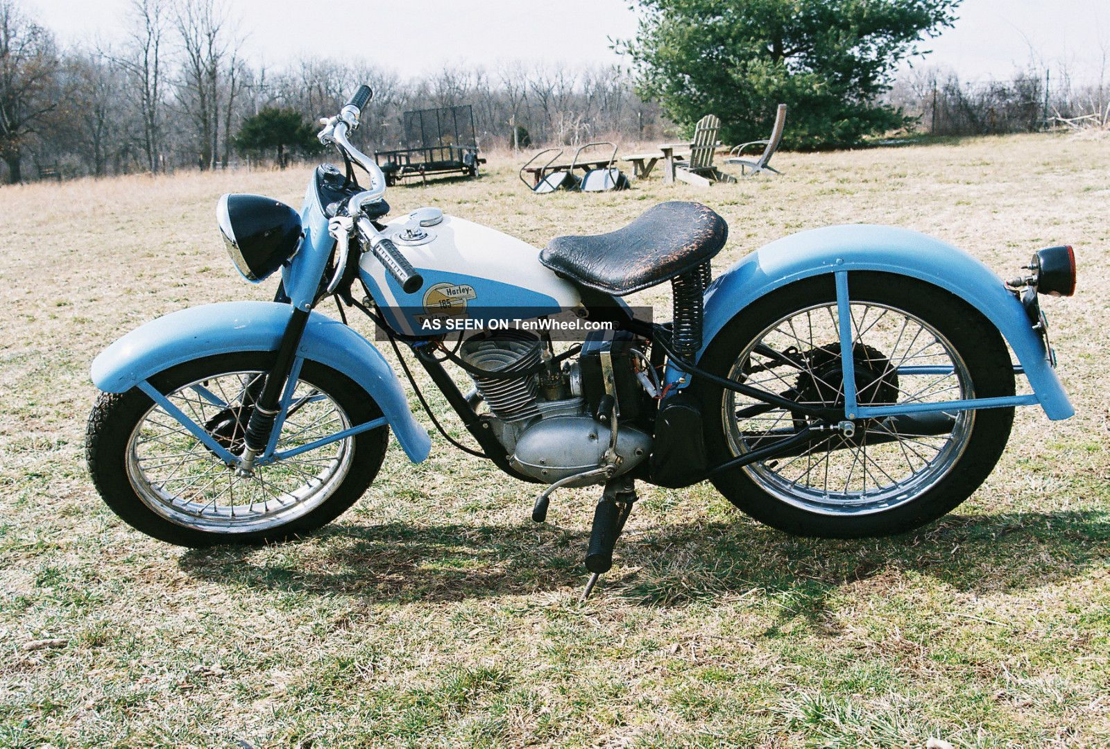 1958 Harley Davidson Model 165 Hummer Other photo