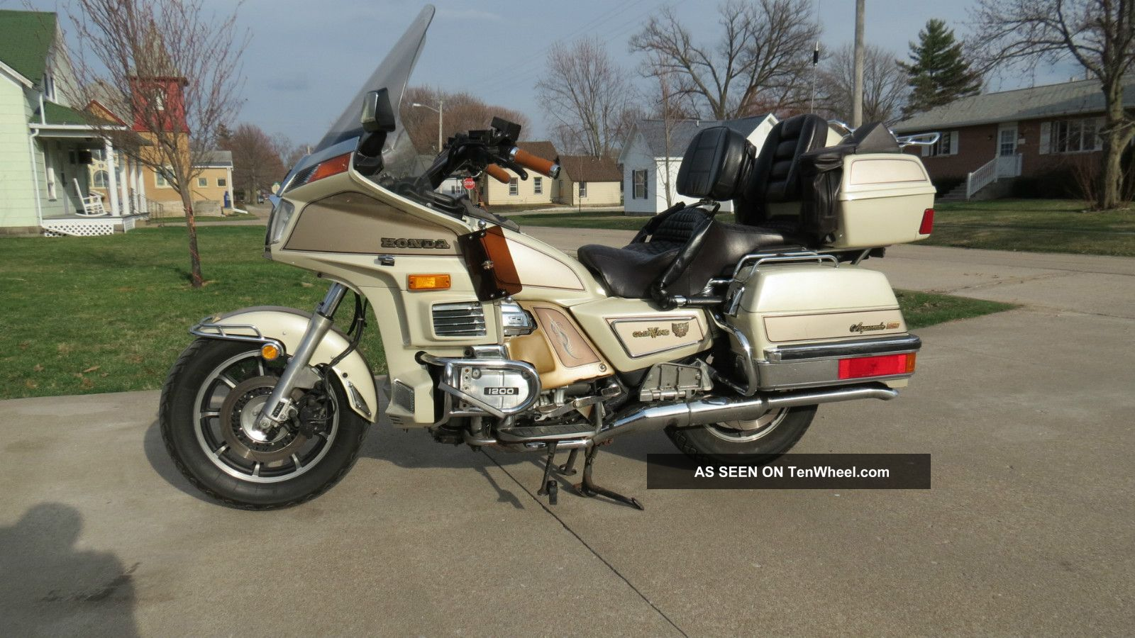 1986 Honda Goldwing Aspencade Parts Gl1200 Wiring Diagram Gold Wing Sei Fuel Injected Special Edition No Res