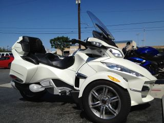 2011 Cam - Am Spyder Rt Limited photo