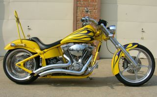 2003 Big Dog Mastiff Motorcycle Softail With 107 Ss Motor photo