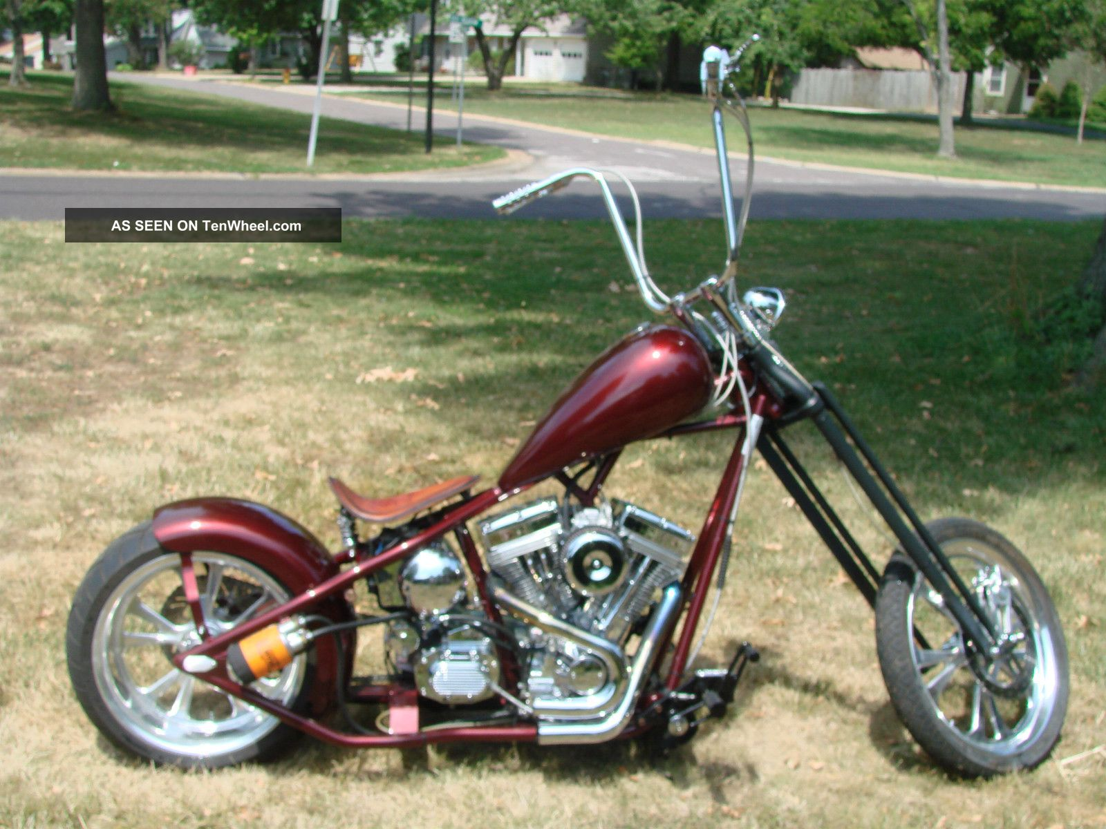 2008 chopper with 127in ultima