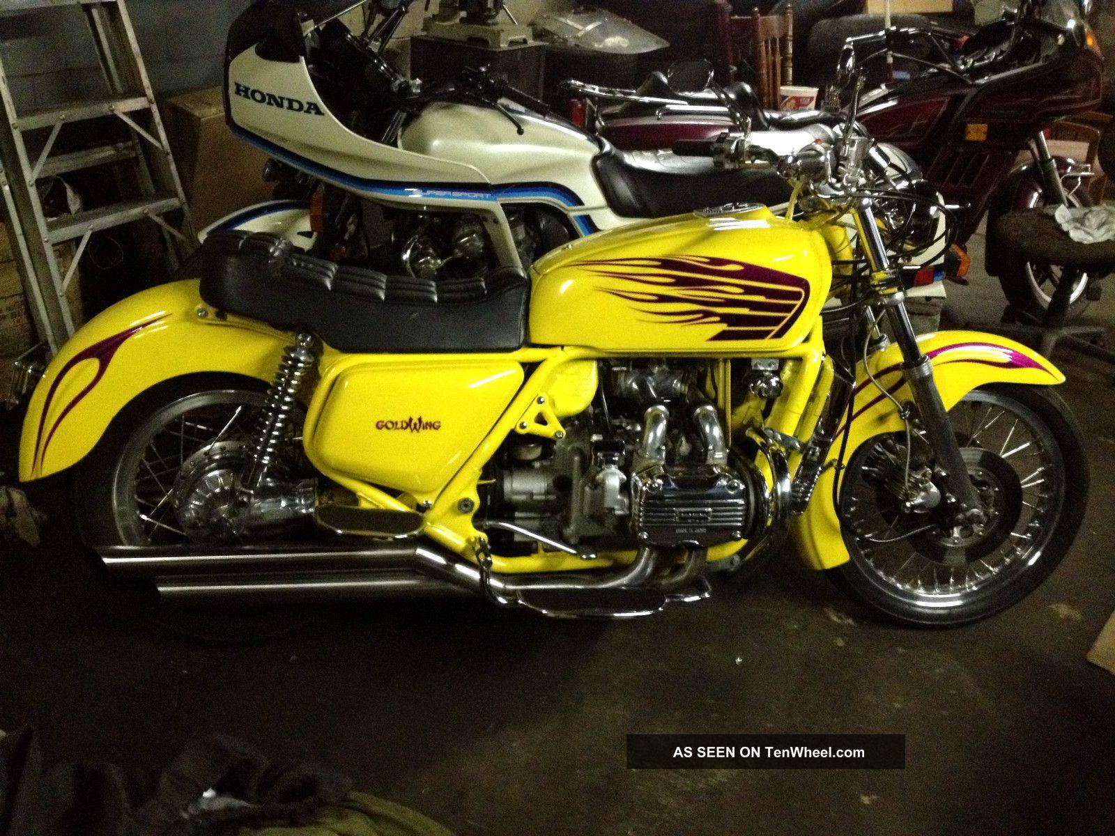 1976 Custom Goldwing Gl 1000