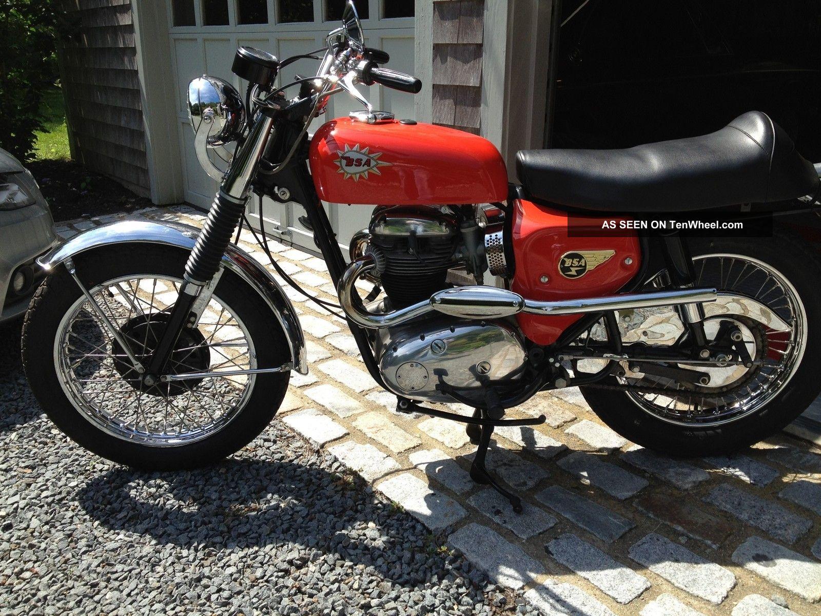 1966 Bsa Hornet