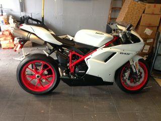 Ducati 848 Evo 2011 Never Dropped 1500miles photo
