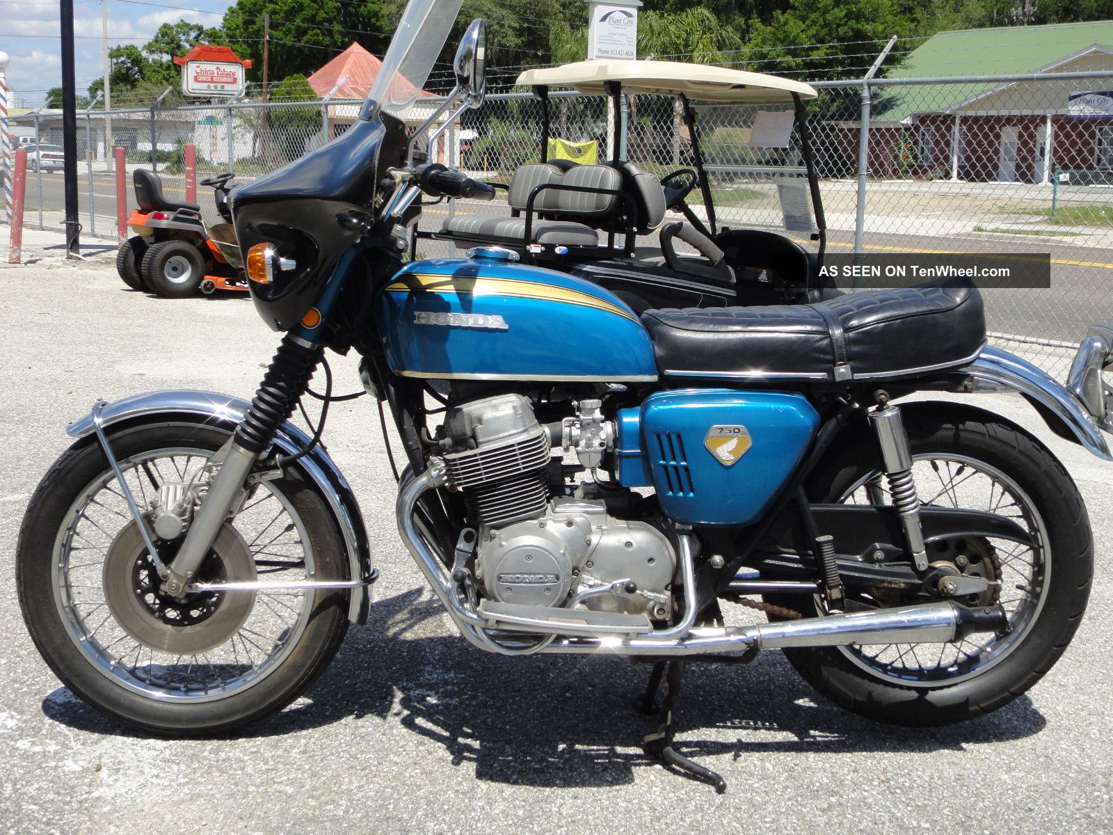 1970 Honda Cb750 Motorcycle 125cc