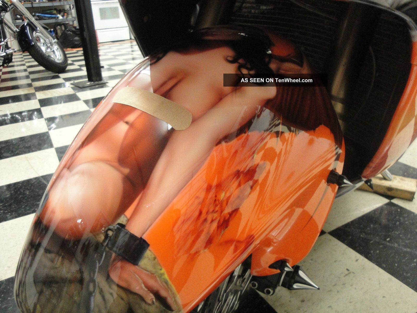 Custom Streched Swingarm Suzuki Hayabusa Gentlemen S Bike Show Paint Lgw