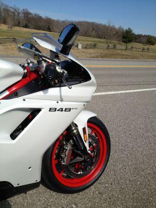 2012 Ducati 848 Evo - - Akrapovic Slip - Ons photo