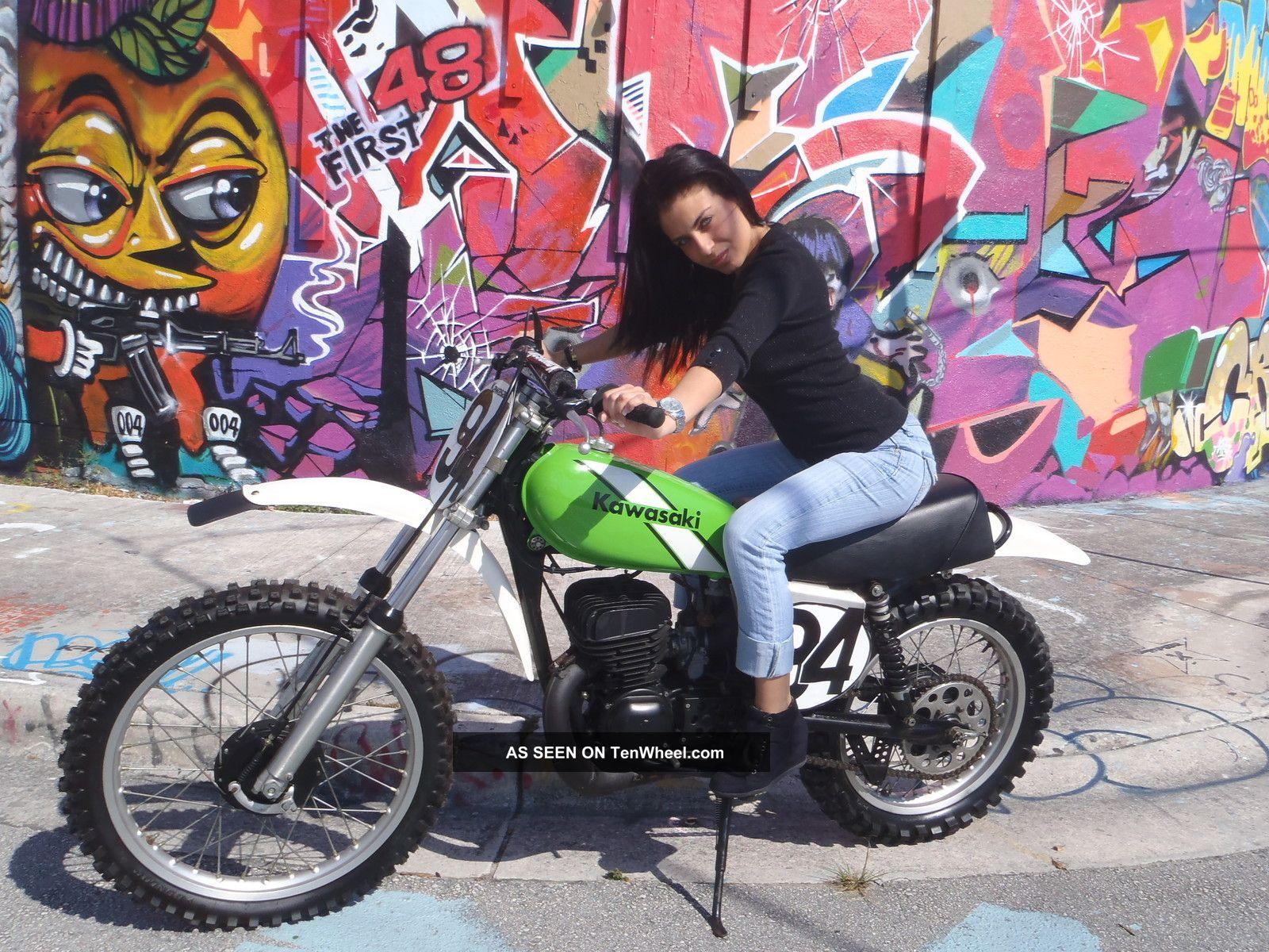 1976 Kawasaki Kx250 Motorcycle