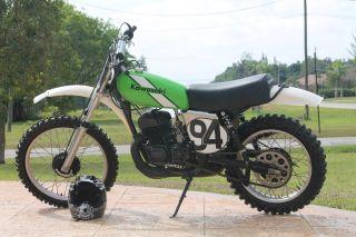 1976 Kawasaki Kx250 Motorcycle photo