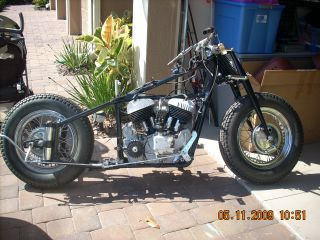 90% Indian Chief - Authentic 1949 Frame And Rebuilt 1948 Motor photo