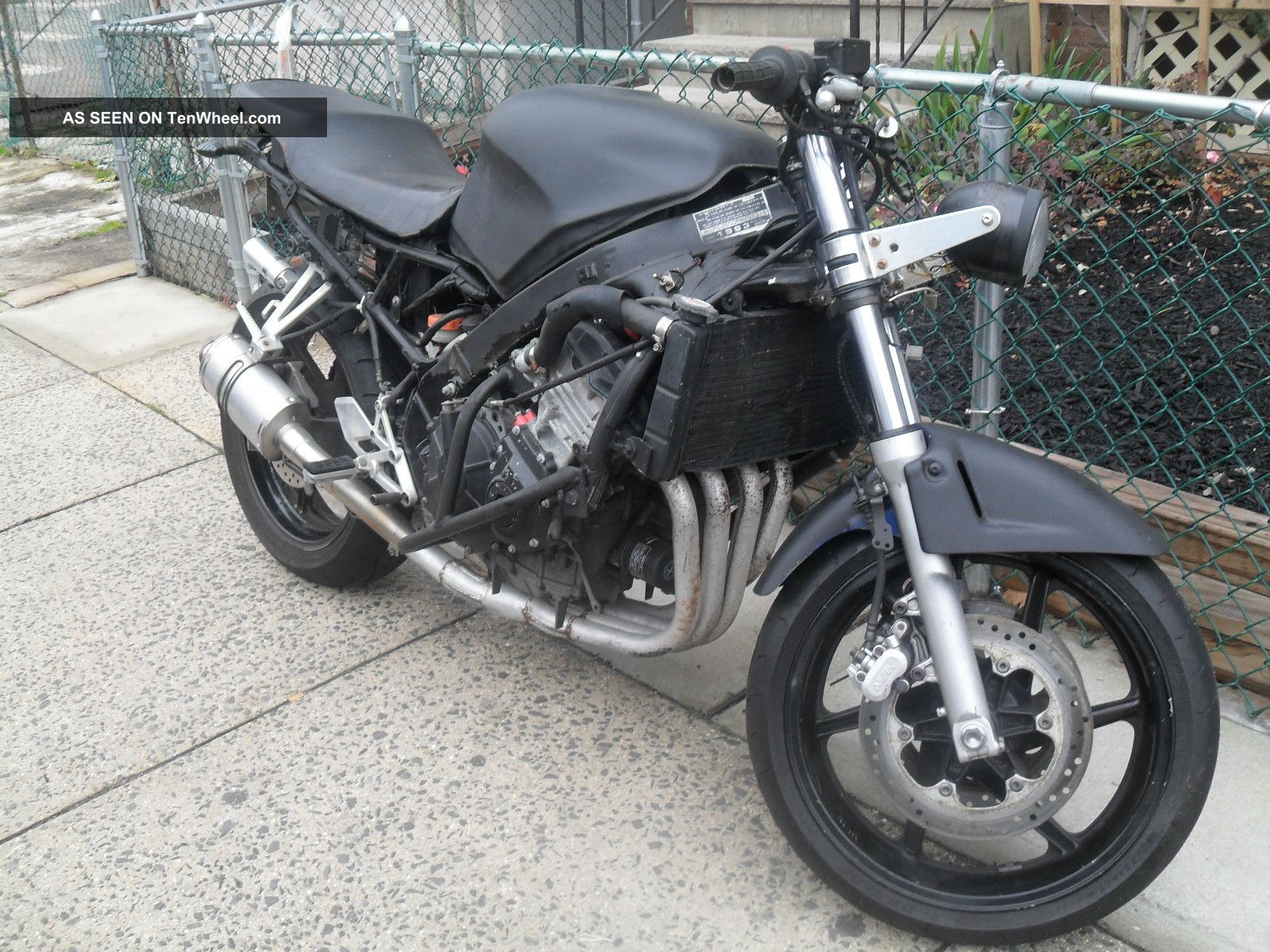 Honda Cbr600 F2 Stunt Bike Streetfighter With Title 2000 Or Make Offer