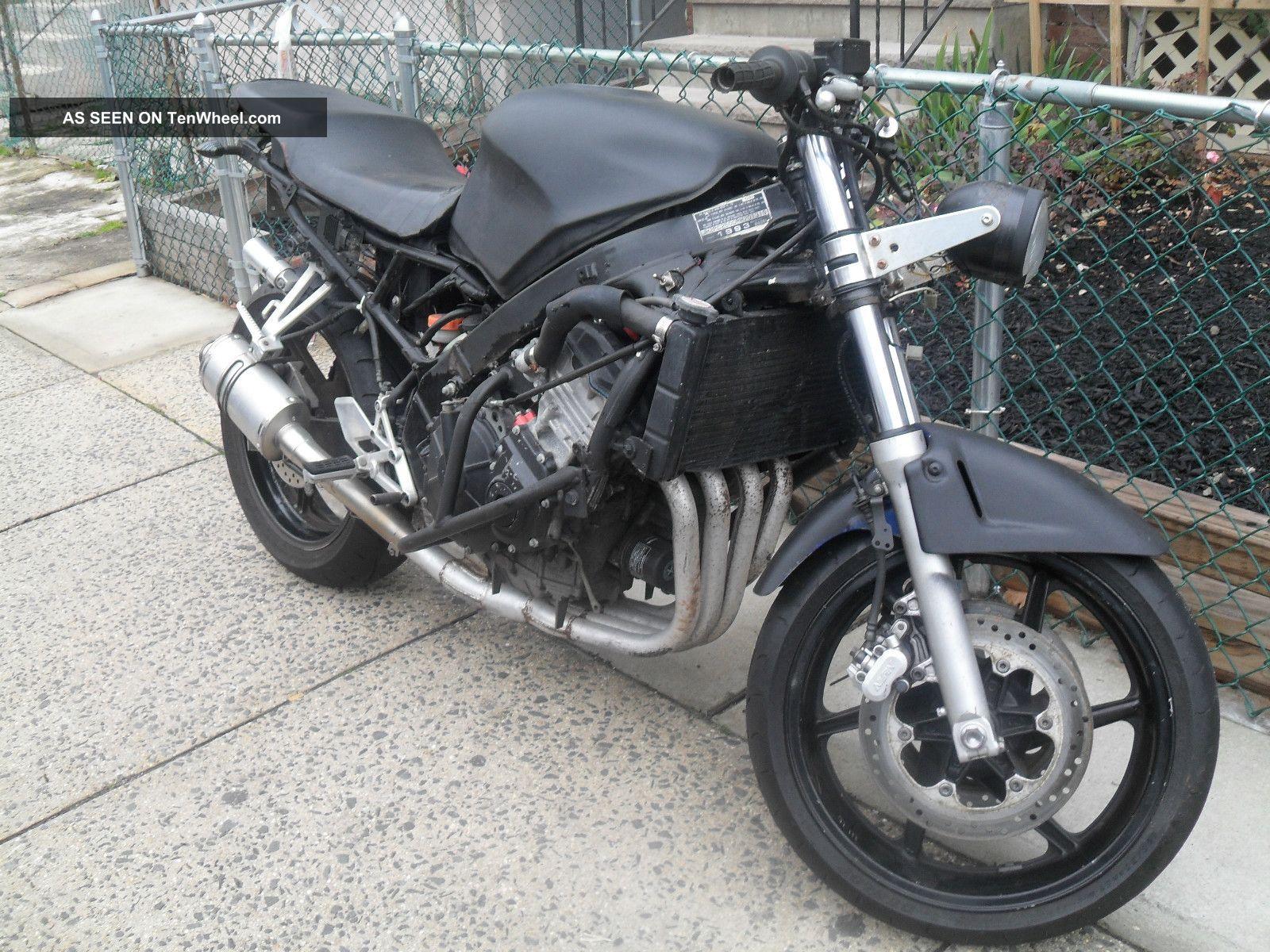 Honda Cbr600 F2 Stunt Bike Streetfighter With Title 2000 Or Make Offer