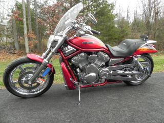 2005 Red Custom Harley Davidson Screamin Eagle V - Rod Vrscse photo