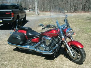 2007 Yamaha 1300 V - Star Burgundy Color, photo
