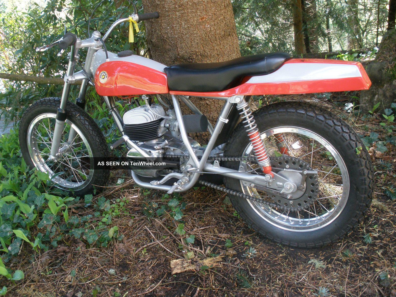 1968 Bultaco Pursang Boatail Flat Tracker - 100% Restored==== Gorgeous Bultaco photo