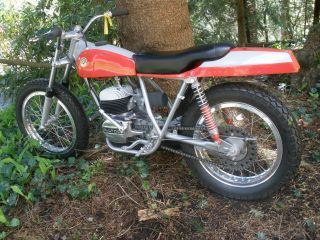 1968 Bultaco Pursang Boatail Flat Tracker - 100% Restored==== Gorgeous photo