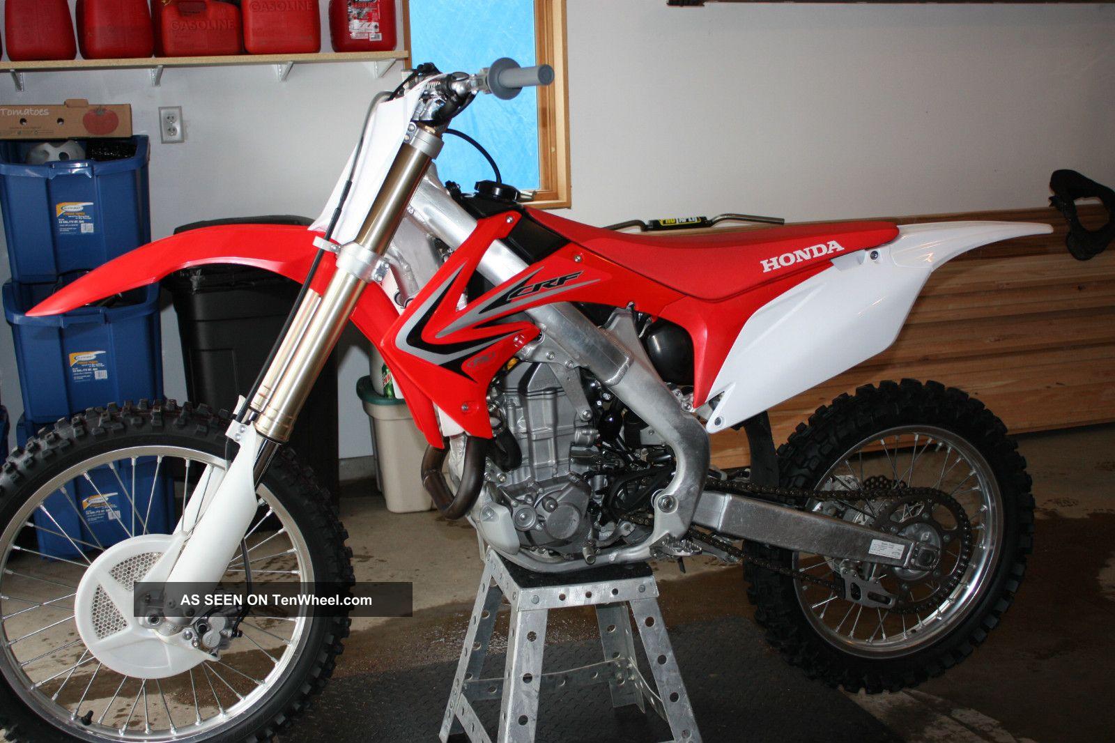 2012 Honda Crf 450r Motorcycle CRF photo